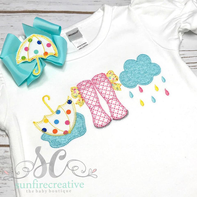 Girls Summer Romper - Sunfire Creative Baby Boutique