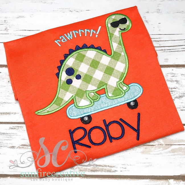 Dinosaur Shirt for Boys - Sunfire Creative Baby Boutique