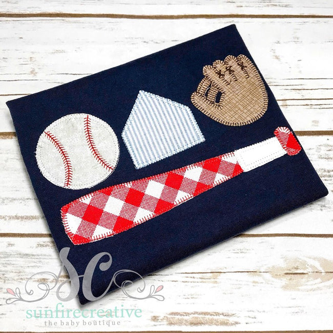 Baseball Shirt - Sunfire Creative Baby Boutique