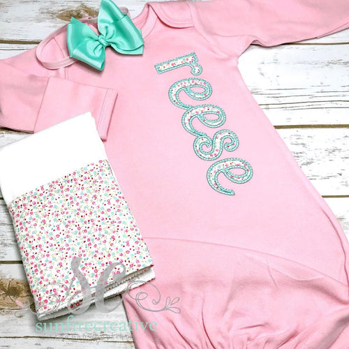 Baby Girl Coming Home Outfit - Baby Shower Gift