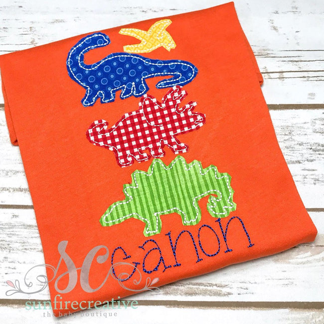 Boy Dinoasaur Shirt - Sunfire Creative Baby Boutique