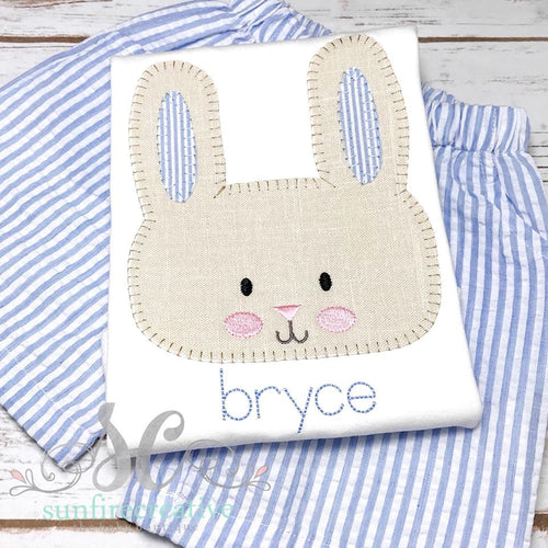Boy Easter Outfit - Rabbit Shirt
