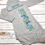 Mustard, Teal and Purple Southwest Baby Set - Sunfire Creative Baby Boutique