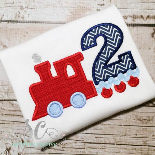 Train Birthday Shirt - Boys Birthday Shirt