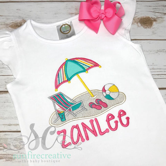 Girl Beach Shirt - Summer Shirt