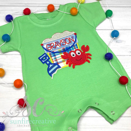 Baby Boy Beach Outfit