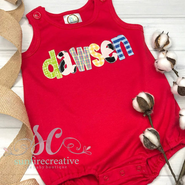 Baby Boy Personalized Bubble - Name Bubble - Sunfire Creative Baby Boutique