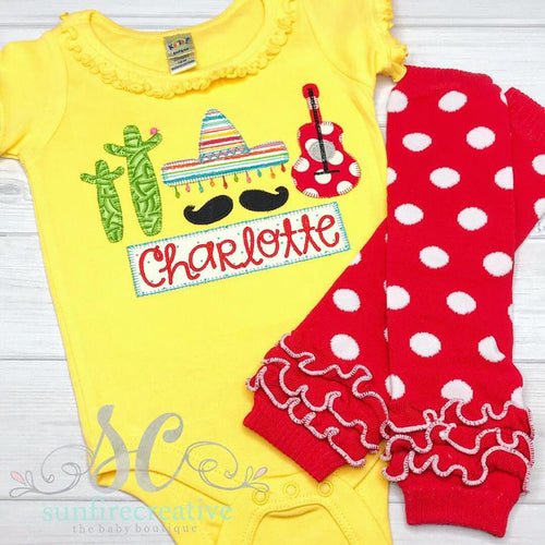 Fiesta Shirt - Girls Fiesta Outfit