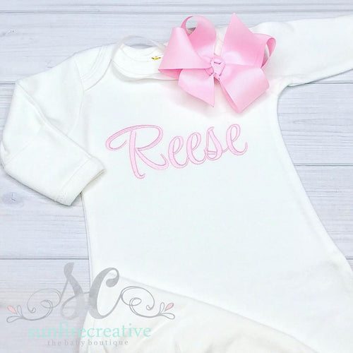 Baby Girl Coming Home Outfit
