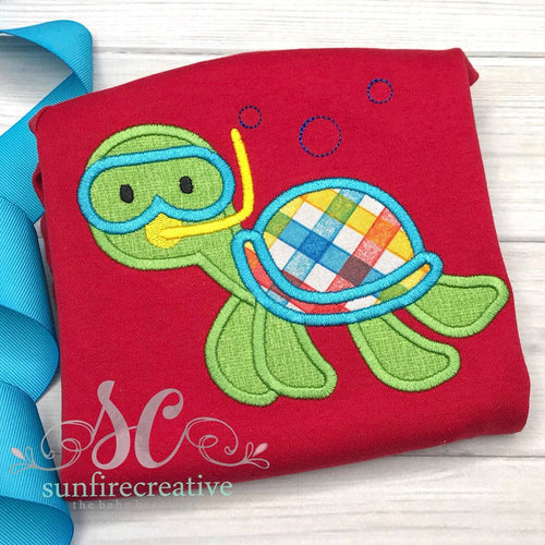 Turtle Shirt - Boy Turtle Shirt
