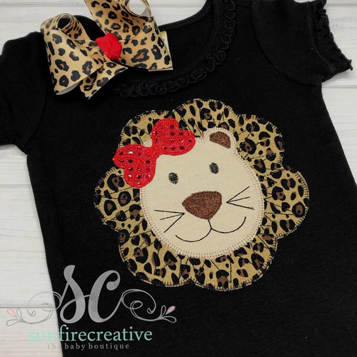Girl Lion Shirt