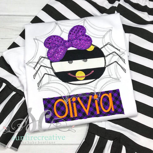 Girls Halloween Outfit - Spider Outfit