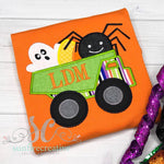 Boy Halloween Shirt - Halloween Dump Truck Shirt - Sunfire Creative Baby Boutique