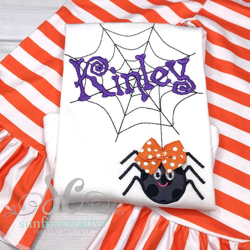 Girls Halloween Outfit - Girls Spider Outfit