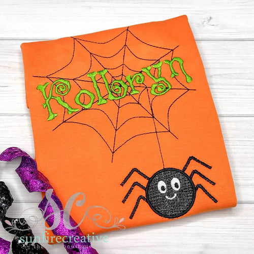 Boy Halloween Shirt - Spider Shirt