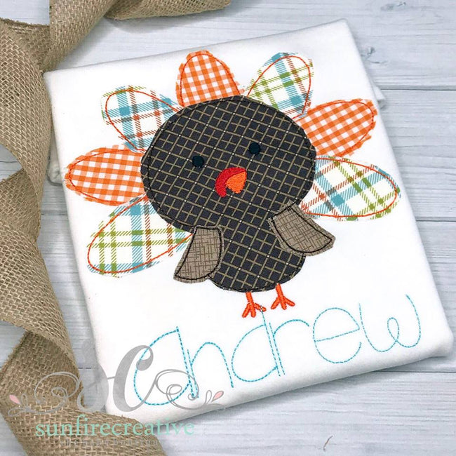 Boy Thanksgiving Shirt - Turkey Shirt - Sunfire Creative Baby Boutique