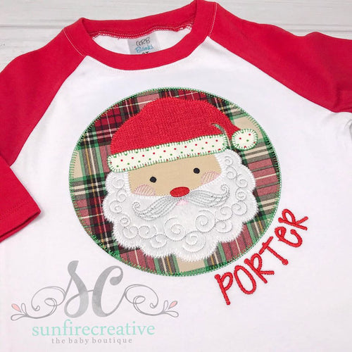Christmas Shirt - Santa Shirt - Boys Christmas Shirt