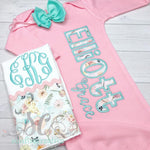 Baby Girl Coming Home Outfit - Rustic Girl Set
