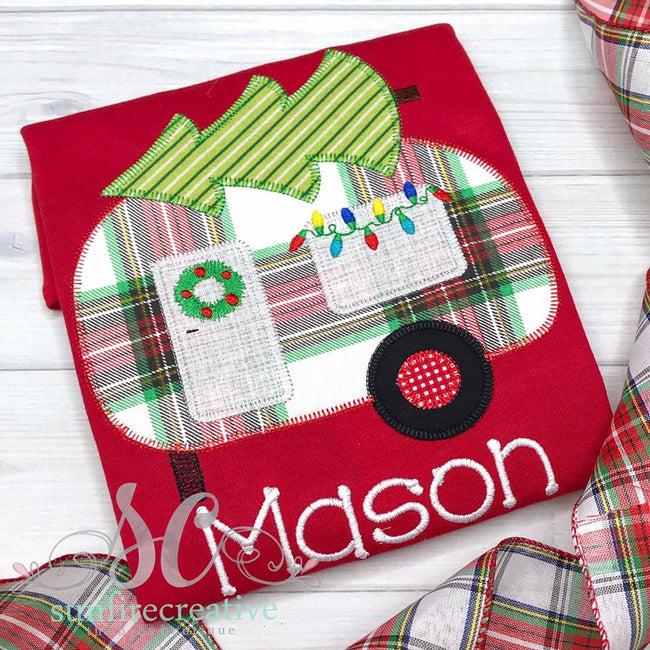 Christmas Camper Shirt - Sunfire Creative Baby Boutique