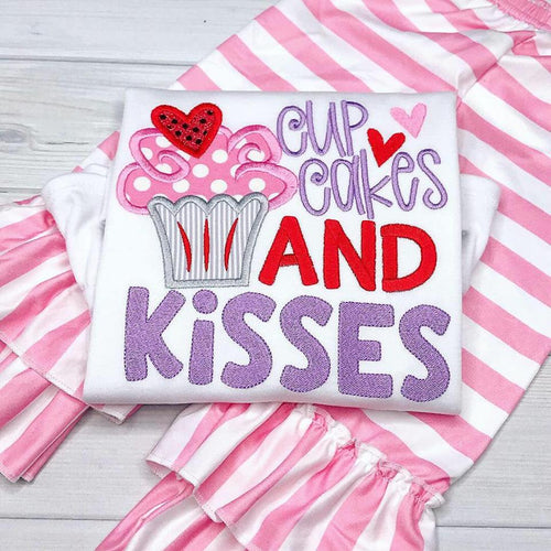 Cupcakes and Kisses Valentine Outfit