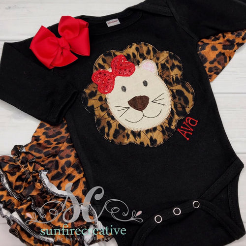 Girls Lion Shirt - Lion Outfit