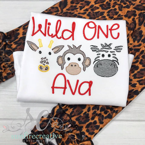 Wild One Zoo Shirt