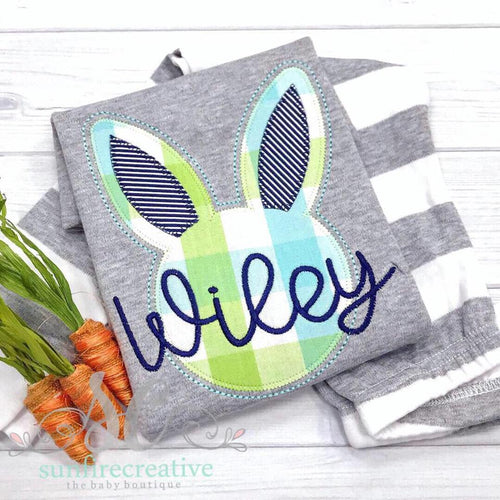 Gray Easter Rabbit Shirt