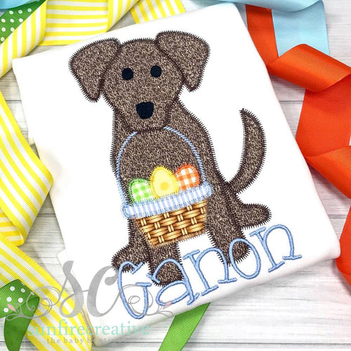 Easter Dog Shirt for Boy