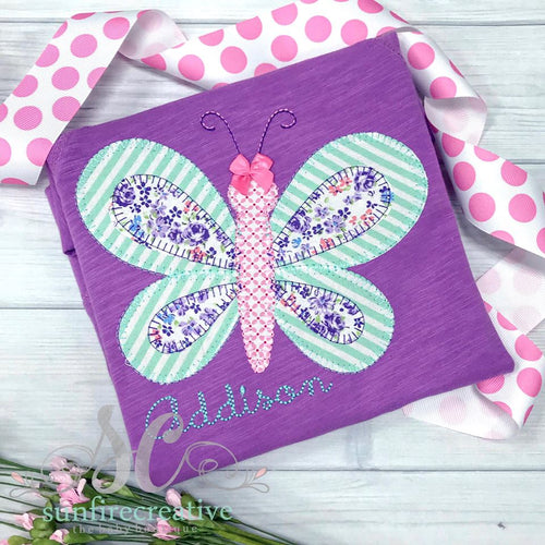 Purple Butterfly Top