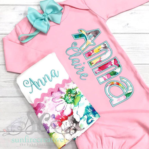 Coming Home Outfit - Baby Girl Set