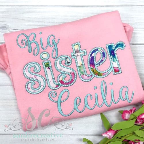 Big Sister Shirt - Birth Announcement Shirt