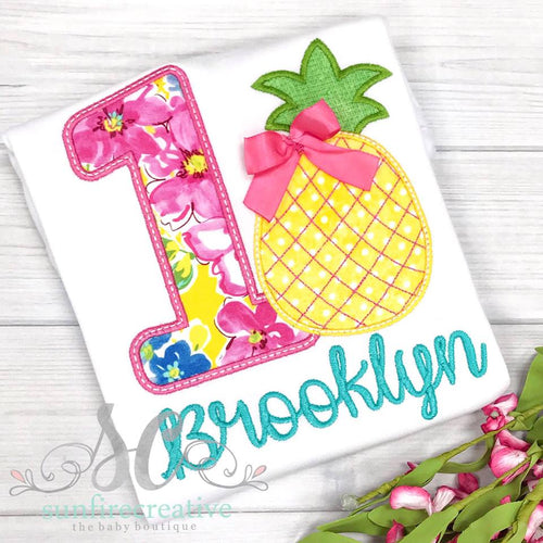 Birthday Girl Shirt - Pineapple Birthday Shirt