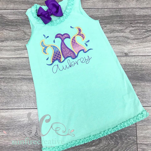 Mermaid Dress - Swimsuit Cover Up