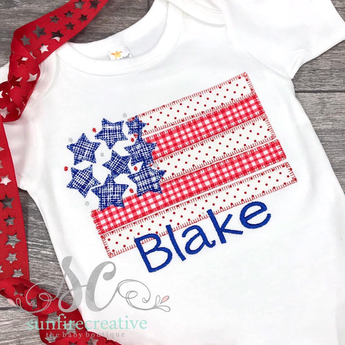 4th of July Shirt - Boys 4th of July Shirt