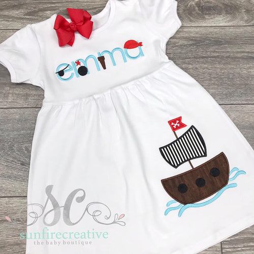 Girls Pirate Dress
