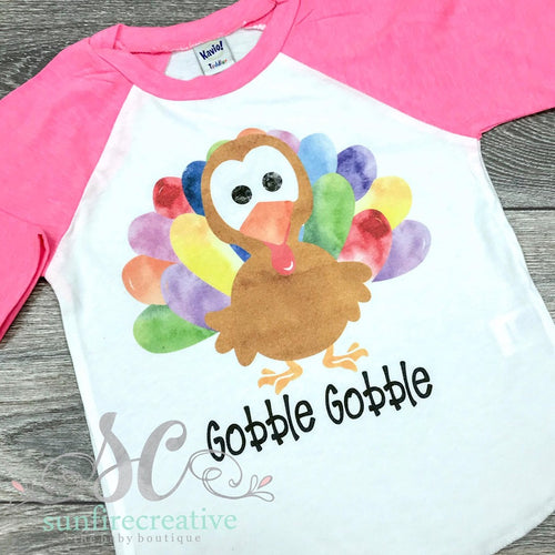 Colorful Turkey Shirt