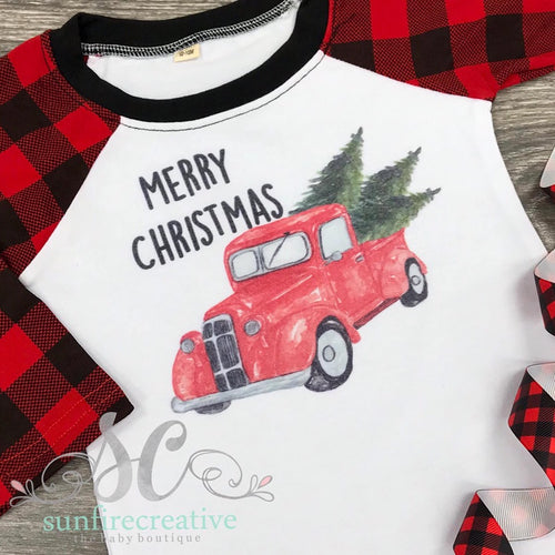 Printed Christmas Shirt - Merry Christmas Shirt