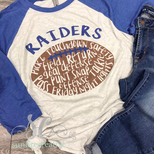 Raiders Spirit Shirt - Adult Printed Shirt - DTG