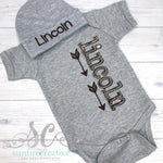 Baby Boy Outfit - Coming Home Outfit