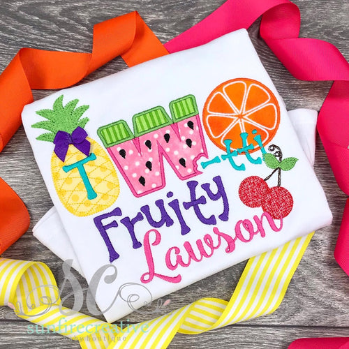 Two-tti Fruity Birthday Shirt
