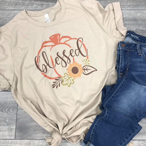 Pumpkin Shirt for Adults - DTG