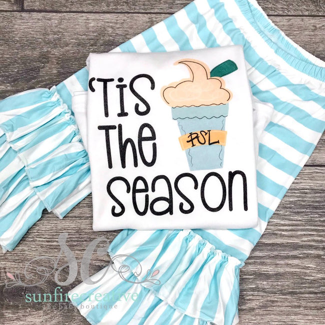 Tis the Season Printed Outfit  - DTG - Sunfire Creative Baby Boutique