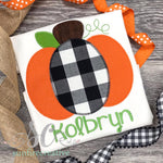 Pumpkin Shirt for Boys - Fall Shirt