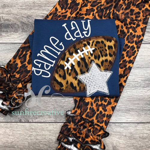 Leopard Game Day shirt