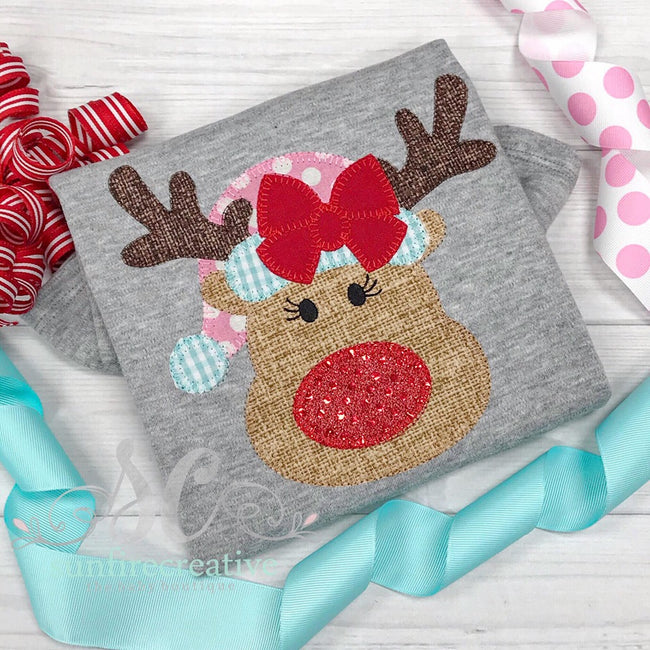 Girls Christmas Reindeer Outfit - Sunfire Creative Baby Boutique