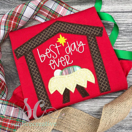 Best Day Ever - Red Christmas Shirt