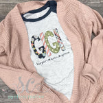 Navy Floral Shirt - Customize Your Shirt - DTG - Sunfire Creative Baby Boutique