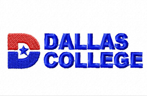 Dallas College Faculty Logo Embroidery