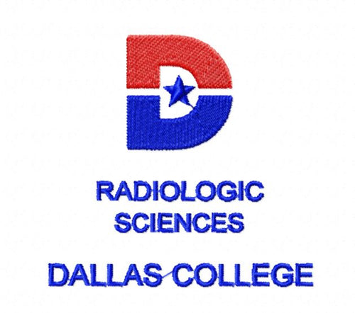 Dallas College Student Logo Embroidery