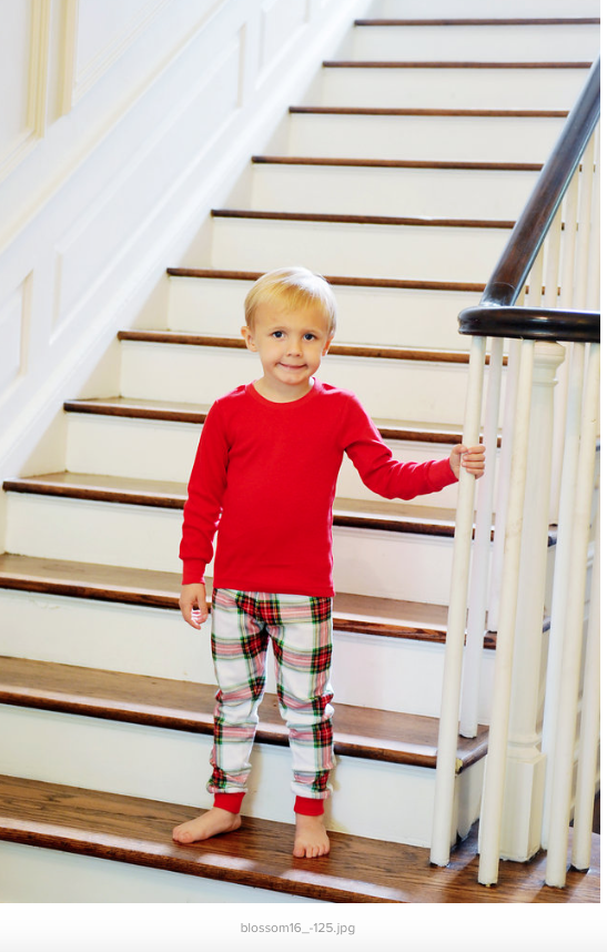 Plaid Christmas Pajamas - Sunfire Creative Baby Boutique